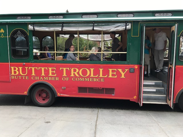 Picture of the Butte Trolley.