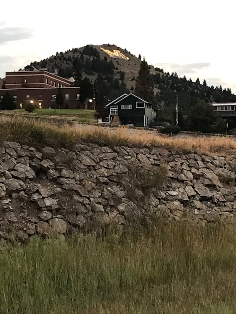 The butte from which the city of Butte draws its name.